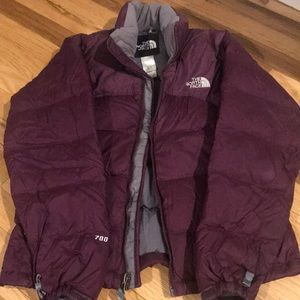 Used Women's North Face Puffer Jacket - Size XS